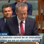 """""""Australia cannot be an innovation nation without being an education nation."""" #BudgetReply https://t.co/hUxFievzKu"""