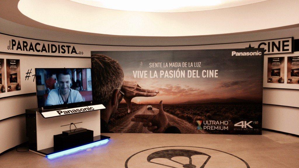 "En ""El Paracaidista"", para la presentación de Panasonic @panasonicESP #LaNovia #DX900 https://t.co/xXF6yQYmxn"
