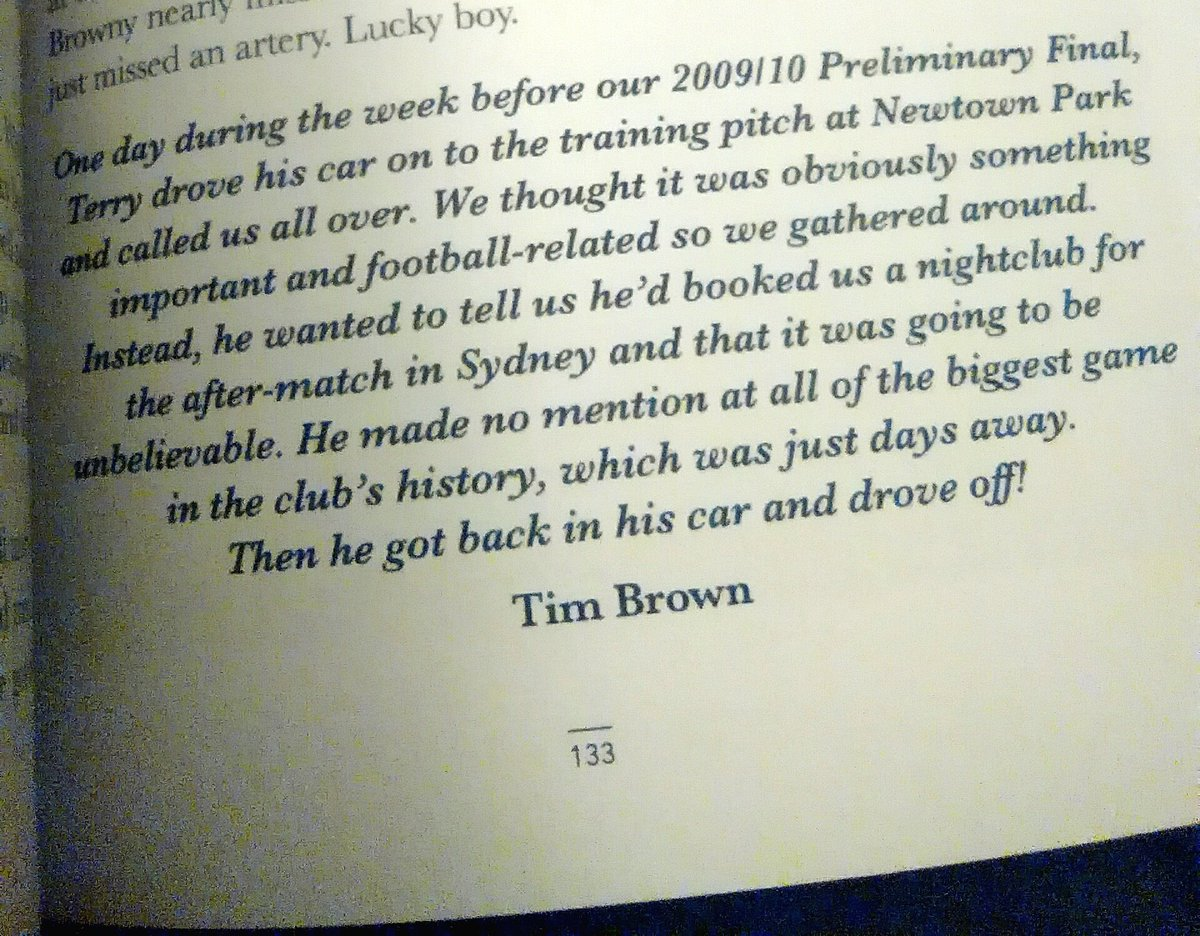 Brilliant Terry Serepisos story from @Siggy2010 book, as told by Tim Brown #FullyCommitted @WgtnPhoenixFC https://t.co/S3yYS5CVg9