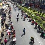 [EN IMÁGENES] Marcha de las personas con discapacidad recorre las calles de La Paz, exigen una renta mensual https://t.co/rBT1FGArsS
