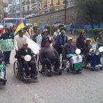 #Discapacitados marchan y Tránsito cierra ingreso al centro paceño https://t.co/AUxCubA7KF #LaPaz #Bolivia https://t.co/91xRUa97OT