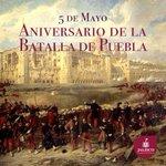 Hoy se conmemora el 154° aniversario de la victoria de Ejército Mexicano sobre los franceses en La Batalla de Puebla https://t.co/FgsOoggZSu