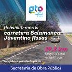 #GtoConstruye #MejoresCaminos carretera Salamanca-Juventino Rosas https://t.co/4hGRPydRmV