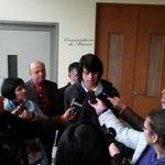 Vocero estudiantil Liceo Josefina Aguirre valora positivamente anuncio de #UAyséncarreras2017 con medios regionales https://t.co/82PCNt07Jd