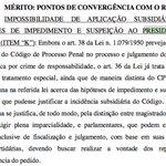 RELEMBRO: Voto vencedor de Barroso na decisão de 2015 do STF sobre rito de impeachment REJEITOU suspeição de Cunha. https://t.co/cksjkZa5yy
