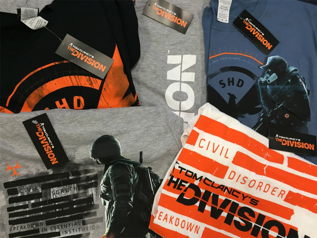 COMPETITION TIME! RT for a chance to WIN a selection of The Division T-Shirts SIZE M. Ends tomorrow at 12PM! https://t.co/09OLn2ZWuW