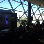 Lots of folks interested in Social #Impact! @MillerKatieS @HUBOttawa on the #StartupDay Stage https://t.co/IGR7XPwx9E