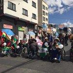 #ÚLTIMO Marcha de las personas con discapacidad toma las calles de La Paz #Bolivia https://t.co/vDklhiwQB5