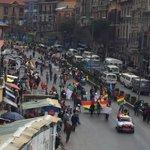 #ÚLTIMO Así ingresa al centro de La Paz la Marcha por la Vida y la Dignidad de las personas con discapacidad https://t.co/sV8o1gWzi2
