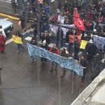 Marcha en el centro de #Valdiviacl en apoyo al movimiento y pescadores de Chiloe https://t.co/p25Zr36ekR