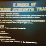 "Joey Batson, MSCC, Clemson Univ, outlines his ""5 Edges of Clemson Strength Training"" during his 2016 CSCCa lecture. https://t.co/ZGMSkHDt6P"