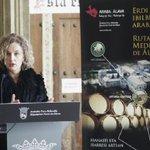 Álava presenta en @Expovacaciones las nuevas Rutas Medievales entre #Artziniega y #Laguardia https://t.co/3X1HdGOnlR https://t.co/CHiXq6rfGL