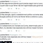 Como @lucianagenro disse, vão tentar explorar essa decisão contra Cunha pra fortalecer Temer e enterrar a Lava Jato https://t.co/MVu8668nbm