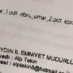 De emailadressen waarvandaan geklikt is. Hey klikturkjes. Turkse justitie heeft het zonder jullie al druk genoeg. https://t.co/1JIeLiRce1