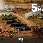 Hace 154 años el ejército mexicano se cubrió de gloria al vencer al ejército francés, 5 de mayo batalla de Puebla. https://t.co/7vA0QihY8v