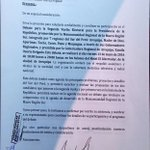 Excusas y mentiras del Fujimorismo. @KeikoFujimori SI fué invitada para debate en el Sur.@pedrospadaro miente!!!!!!! https://t.co/tkvCik2mJq