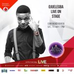 @wizkidayo will be live on stage at the #VGMAs this Saturday. #ojuelegba #final#showyouthemoney https://t.co/5ABdr4cqDZ
