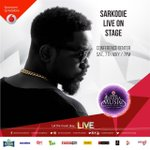 #sarknation are you ready for @sarkodie this Saturday at the #VGMAs? he will be LIVE on stage and we just cant wait https://t.co/oyeAnwZilL