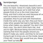 #IG | Lauren commented on Instagram https://t.co/oGcCFt9ML6