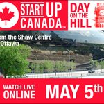 LIVE ONLINE: @Startup_Canadas #StartupDay is about to begin, tune in at https://t.co/wxJL6yDtdL https://t.co/SInn8dDgby