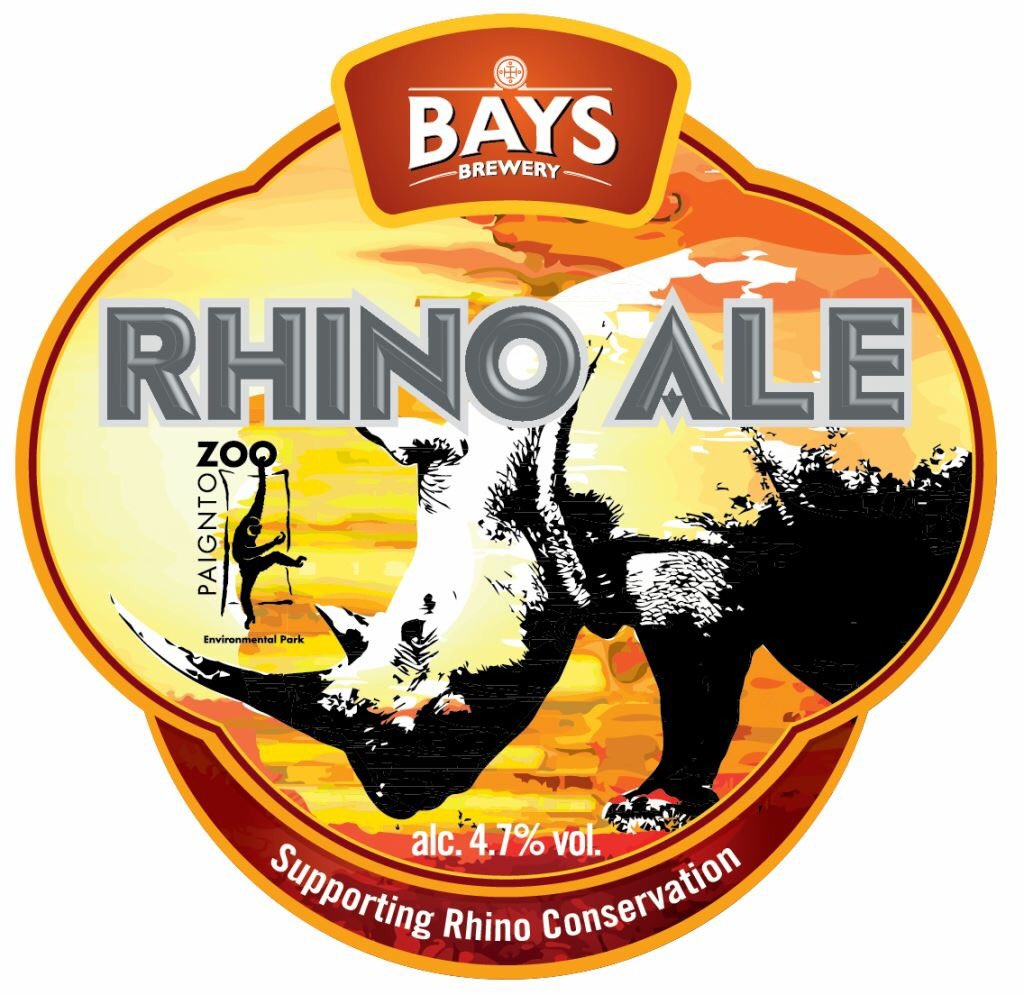 Helping launch @BaysBrewery #RhinoAle with @PaigntonZoo in @greenginger01. Pop down and try some! #savetherhinos https://t.co/5936VVf2CB