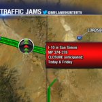 Heads up! @Arizona_DPS says its likely I-10 in San Simon will close due to high winds/blowing dust today. https://t.co/9cXGWxV7Rs