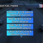 #GASPRICES: Im sorry to say were creeping up on the gas price front. #Tucson Avg: $2.00. https://t.co/5rA9hwsrHa
