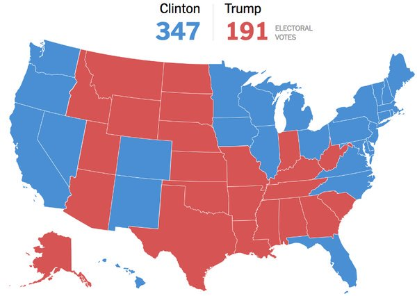 Where things stand, state by state, in a Trump-Clinton matchup https://t.co/qrooCKyL8A