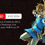 Nintendo's E3 booth will be focused around The Legend of Zelda for Wii U https://t.co/JWqiyyG0Dm https://t.co/BFulnpC29j