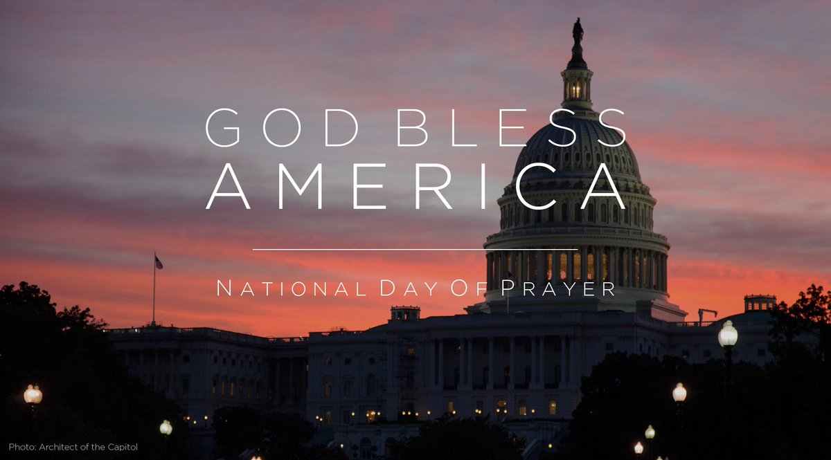 #Prayer is an act of faith that has unified us as a nation since our inception. #NationalDayOfPrayer https://t.co/KCszBZadVd