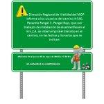 Atención! Interrupciones de tránsito programadas para esta semana en #Ruta7Norte, #Ruta7Sur y más... https://t.co/cbp0ikYgle