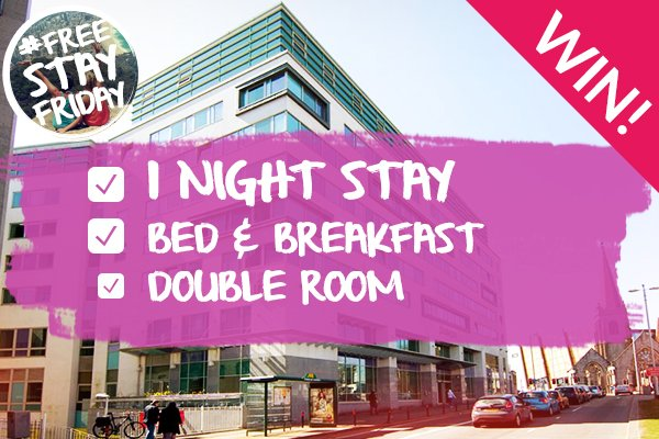 THIS IS NOT A DRILL. #FREESTAYFRIDAY is ON people! RT & FOLLOW to #WIN this week's stay. https://t.co/dP4s3fSvfT https://t.co/4bV8w8HJ61