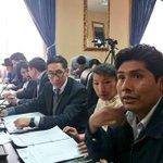 #EnDirecto Se instala sesión de Comisión Mixta de Constitución para entrevistar a postulantes para la @DPBolivia https://t.co/iJ5TJHiPYg