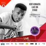 @KinaataGh the #fanterapgod will be on stage this Saturday at the #VGMAs #susuka #sweetiepie https://t.co/Lf4r3lI93z