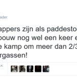 Wtf. Op Bevijdingsfestival Utrecht staat rapper Steen. Die dit soort statements maakt. Smaakvol, @BFUtrecht. #BFU16 https://t.co/HvS1BProSb