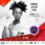 it will be @adomaa_musics first time on stage at the #VGMAs and we know she will definitely nail every note #gogirl https://t.co/Z8PTfJDPqn