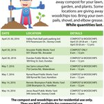 2 more FREE COMPOST & WOODCHIPS giveaway events on Saturday, While supplies last, residential use only! #HamOnt https://t.co/qcVl8KDHpn