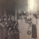 This #tbt is a photo that came from the #Maycrowning at Saint Andrew in 1954. We continue the tradition tomorrow! https://t.co/risloQWoWw
