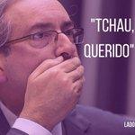 #TchauQuerido ? Não necessariamente. Eduardo Cunha foi afastado, mas segue deputado, não podendo exercer o mandato. https://t.co/jrLC9giIHl