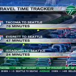 6:40 a.m. travel times from @AdamGehrke #99closure https://t.co/63qqTf6ah8
