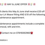 ???????????? MAY & JUNE OFFER ???????????? #laweave #beautyworks #HairExtensions #Hampshire #basingstoke https://t.co/SWTFNrBLLe
