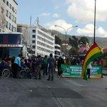 #EnDirecto #LaPaz Personas con discapacidad se concentran en la Av. Montes para iniciar marcha por el bono de Bs 500 https://t.co/hMH4KTtIJ3