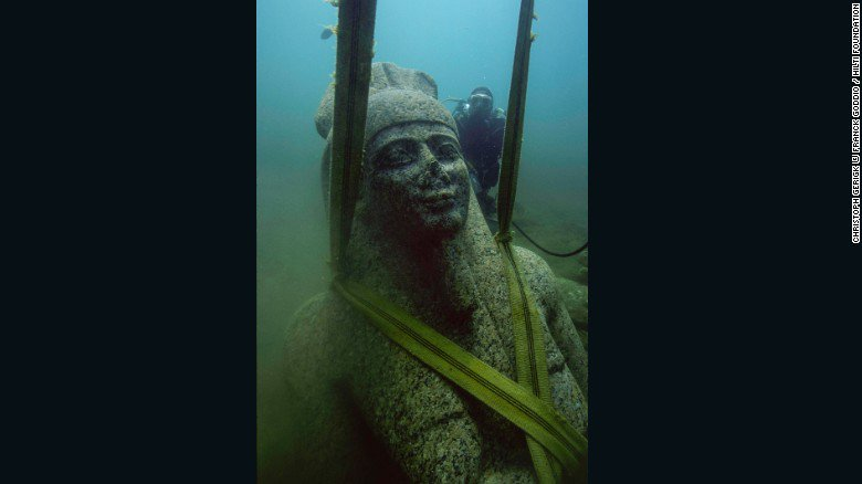 The secrets of a lost Egyptian city were underwater https://t.co/QYGzJ8Kk2Q
