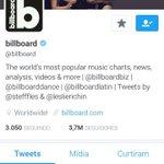 Fifth Harmony está na capa do twitter da Billboard #5HBillBoard https://t.co/W1uxyHdN5O
