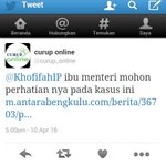 Bapak Gub @ridwanmukti1963 sampaikan sama ibu @KhofifahIP kasus YY sudah kami tweet tgl 10 April, tp tdk d tanggapi https://t.co/DssOPXqCgY