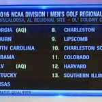 Tigers are headed to Tuscaloosa as the 2 seed! 5 @sec schools! @GCMorningDrive #WarEagle https://t.co/SYWeS4jhWd