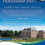 Canada & Netherlands Friendship Day is May 7, 10am Join me at City Hall to celebrate https://t.co/IO606vli8r #BurlON https://t.co/Cwt2SfJQL5