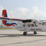 Nepali carrier #Nepal Airlines #China made #Y12e is ready to fly after grounding more than 6 months in #KTM Airport https://t.co/PwSF2xqqjM