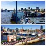 Jetzt legt die #FregatteBrandenburg an - #Hamburg wartet schon. #Hafengeburtstag https://t.co/LGTVZHrrBn