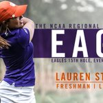Lauren Stephenson eagles the 15th hole on the opening day of the NCAA Regional Championships! #NCAAGolf #ACCWGolf https://t.co/BaBxqOp0j6